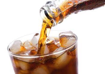 Soda cola bouteile verre